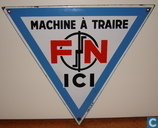Enamel signs - Construction / Industry - FN Machine à traire