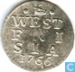 Westfriesland 1 Cent 1766