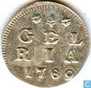 Gelderland dubbele wapenstuiver 1789