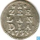 Zeeland 2 stuivers 1733