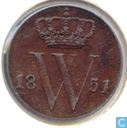 1/2 cent 1851