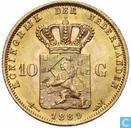 Pays-Bas 10 gulden 1889