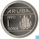 Aruba 1 florin 1990
