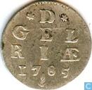 Gelderland dubbele wapenstuiver 1785