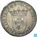 Kostbaarste item - Frankrijk 1 écu 1649 Orange