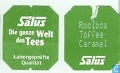 Tea bag label - Salus -  3 Rooibos Toffee-Caramel