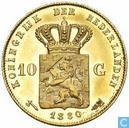 Pays-Bas 10 gulden 1880