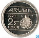 Aruba 2 florin 1990