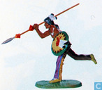Toy soldier - Hausser/Elastolin - American Indian