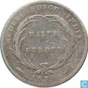 Dutch East Indies ½ gulden 1834