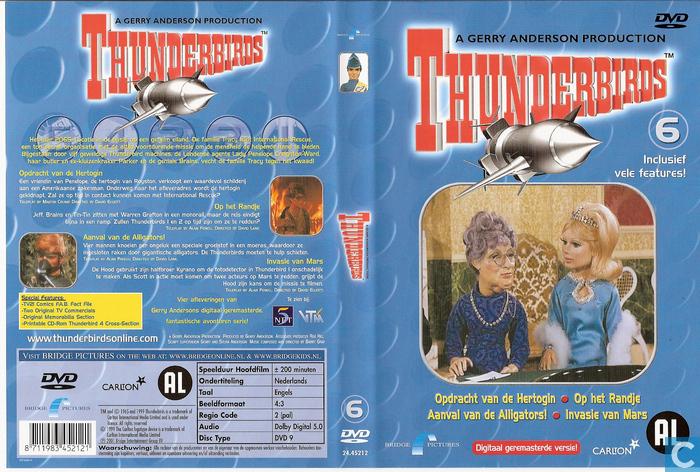 thunderbirds 6 dvd catawiki