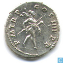 Roman Empire by Emperor Trajan Denarius 101-102 AD.