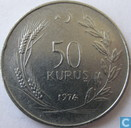 Coins - Turkey - Turkey 50 kurus 1974