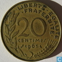 Coins - France - France 20 centimes 1965
