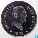 "Coins - South Africa - South Africa 5 cents 1976 ""The end of Jacobus Johannes Fouche's presidency"""