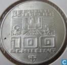 "Coins - Austria - Austria 100 schilling 1975 (shield) ""1976 Olympics - Innsbruck - Skier"""