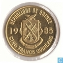 Guinea 5 Franc 1985