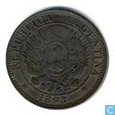 Coins - Argentina - Argentina 2 centavos 1893