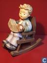 Kind met accordeon