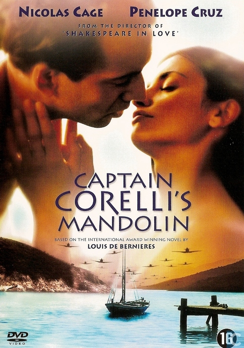 corelli s mandolin The filming of the movie captain corelli's mandolin in kefalonia greece: the  beautiful island of kefalonia constituted the main setting for the hollywood film.
