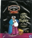 Tea bag label - Mabroc - 1001 Nights  