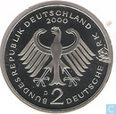 Germany 2 mark 2000 D (Franz Joseph Strauss)