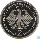 Germany 2 mark 1997 G (Franz Joseph Strauss)