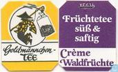 Tea bag label - Goldmännchen Tee - 31 Crème Waldfrüchte