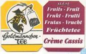 Tea bag label - Goldmnnchen Tee - 24 Crme-Cassis
