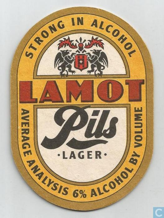 Beer United Kingdom  city pictures gallery : Beer mats United Kingdom Lamot Pils lager Strong in alcohol