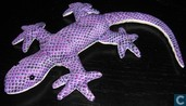 Purple crocodile