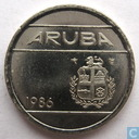Aruba 5 cents 1986