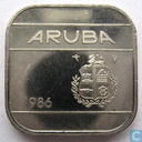 Aruba 50 cents 1986