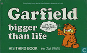Garfield bigger than life