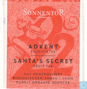 22 Advent Frchtetee | Santa's Secret Fruit Tea