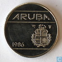 Aruba 10 cents 1986