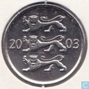 Estonia 20 senti 2003