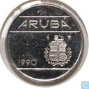 Aruba 10 cents 1990
