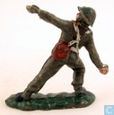 Toy soldier - Benbros - British Infantryman