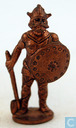 Viking with axe and shield (copper)