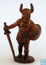 Viking with sword and shield
