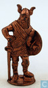 Viking with sword and shield (copper)