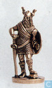 Viking with sword and shield (brass)