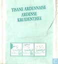 Tea bags and Tea labels - Tisane Ardennaise - Ardense Kruidenthee