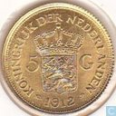 Nederland 5 gulden 1912