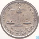Verenigde Staten One Troy Ounce Silver Trade Unit 