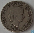 Switzerland 10 rappen 1883
