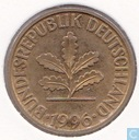Germany 10 pfennig 1996 D