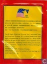 Tea bag label - Flag & Eagle - American Ginseng Tea