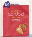 Tea bag label - Albert Heijn - aardbei